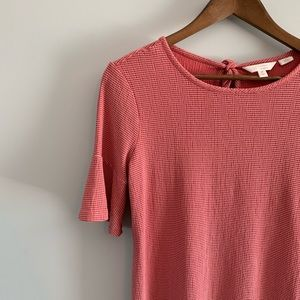 Bell Ruffle Sleeved Top